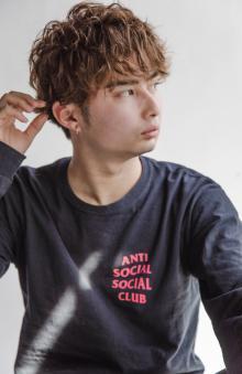 束感マッシュパーマ|MINX 原宿店のヘアスタイル
