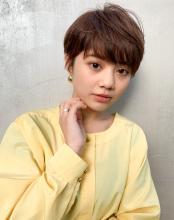 大人可愛い☆ベリーショート 毛先パーマ|MINX 原宿店のヘアスタイル