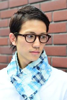 男らしい艶感でラギッドな雰囲気に! |MINX 原宿店のヘアスタイル