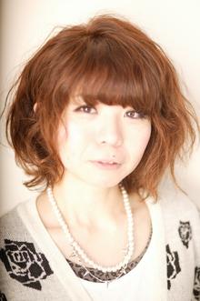明るめのカラーとゆるふわな毛流れでナチュ・ガーリー|TotalBeautySalon Moulin-Rのヘアスタイル