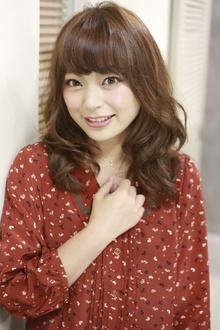 ホイップカールセミロング☆|NATURAのヘアスタイル