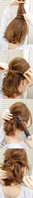 大人の魅力を引き出したハーフアップのアレンジヘア