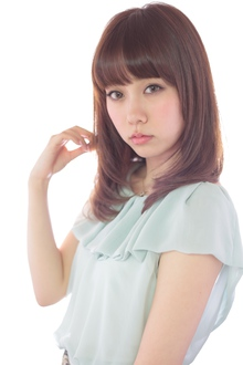ニュアンスストレート☆|NATURAのヘアスタイル