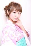 浴衣アレンジ☆|NATURAのヘアスタイル