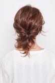 リッジカールのまとめ髪