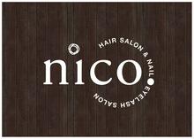 nico.  | ニコ  のロゴ