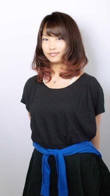 [nico.style]オータムグラデ|nico.のヘアスタイル