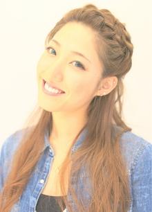 [nico.style]編みこみハーフアップ|nico.のヘアスタイル