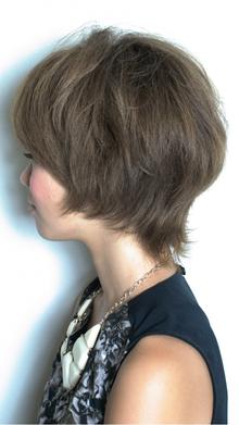 [nico.style]絶壁解消外ハネショート nico.のヘアスタイル