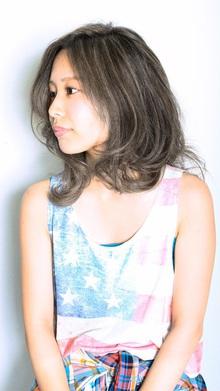 [nico.style]南海岸風プラチナハイライト|nico.のヘアスタイル