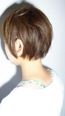 [nico.style]はねないえりあしショート|nico.のヘアスタイル