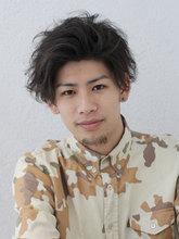 スタイリング自在☆パーマ|Of HAIR 銀座店のメンズヘアスタイル