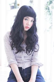 個性派ロング|OLIVE hair feel のヘアスタイル