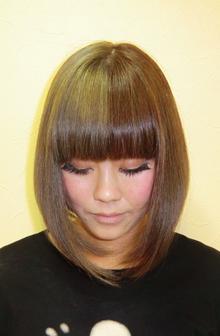大人キュートミディ|OLIVE Hair Luceのヘアスタイル