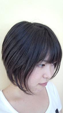 黒髪ショート|OLIVE Hair Luceのヘアスタイル