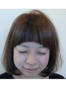ナチュラルかわいいショート|OLIVE Hair Luceのヘアスタイル