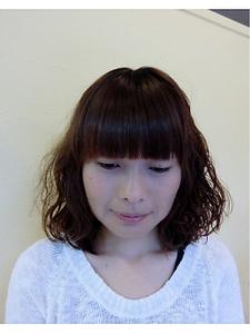 ナチュラルミディ|OLIVE Hair Luceのヘアスタイル