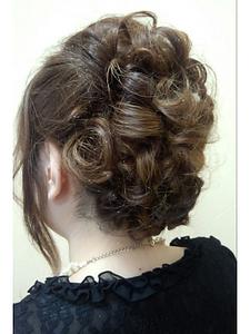 アップスタイル|OLIVE Hair Luceのヘアスタイル
