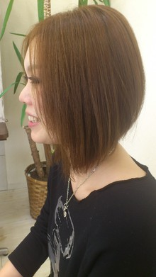 ツヤと丸みのMIX|OZ Rootsのヘアスタイル