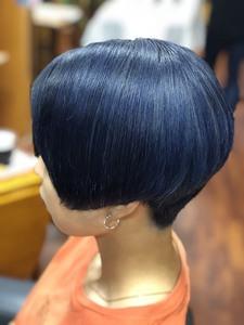 ブルー|Palet'sのヘアスタイル