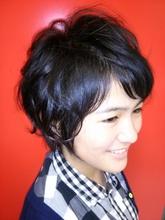 Short|オレンジ・ペコのヘアスタイル