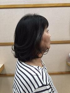 内巻きボブ|美容室/美容院 Run アールアン  平塚のヘアスタイル