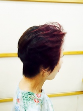 手ぐしで簡単ショートスタイル|美容室/美容院 Run アールアン  平塚 鈴木 静のヘアスタイル