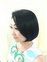 黒髪美人ボブ|美容室/美容院 Run アールアン  平塚のヘアスタイル