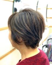 フェミニンなショートレイヤー|美容室/美容院 Run アールアン  平塚のヘアスタイル