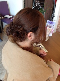 結婚式♡ヘアセット
