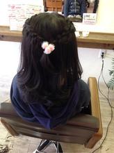ヘアアレンジ♡|Radiantのキッズヘアスタイル