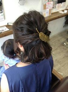 ハーフアップ|Radiantのヘアスタイル