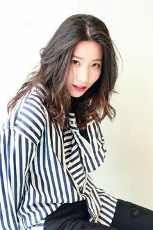大人かき上げオフィスセミロング★|RENJISHI KICHIJOJIのヘアスタイル
