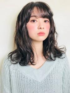 ミディアムゆるふわスタイル  RENJISHI KICHIJOJIのヘアスタイル