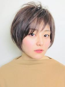 前髪短いショートボブ|RENJISHI KICHIJOJIのヘアスタイル