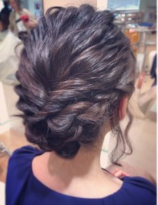 柔らかい質感のパーティセット|RENJISHI KICHIJOJIのヘアスタイル