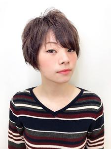 大人可愛い甘辛MIXふんわりショート|RENJISHI KICHIJOJIのヘアスタイル