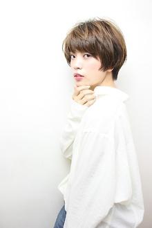 動きと軽さの大人可愛いマッシュショート|RENJISHI KICHIJOJIのヘアスタイル