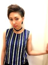 クール刈り上げショート|RENJISHI KICHIJOJIのヘアスタイル