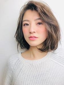 かきあげ大人ボブ|RENJISHI KICHIJOJIのヘアスタイル