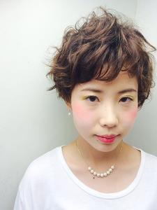 外国人風ふわクシュショート|RENJISHI KICHIJOJIのヘアスタイル