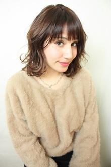 大人可愛いミディアム|RENJISHI KICHIJOJIのヘアスタイル
