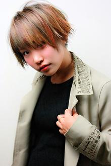 マルチカラーベリーショート クールスタイル|RENJISHI KICHIJOJIのヘアスタイル