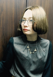 クラシックワンカールボブ|RENJISHI KICHIJOJIのヘアスタイル