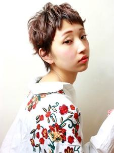 軽さと動きのあるスパイスショート|RENJISHI KICHIJOJIのヘアスタイル