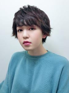 外ハネカジュアルショート|RENJISHI KICHIJOJIのヘアスタイル