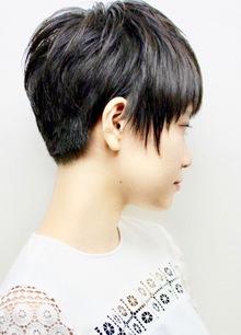 切り上げのベリーショート|RENJISHI KICHIJOJIのヘアスタイル