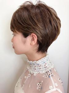 耳かけショート|RENJISHI KICHIJOJIのヘアスタイル