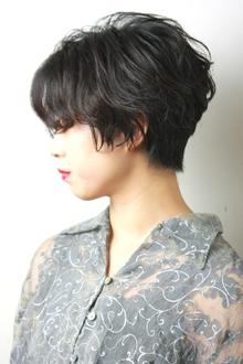 カット×パーマベリーショート|RENJISHI KICHIJOJIのヘアスタイル