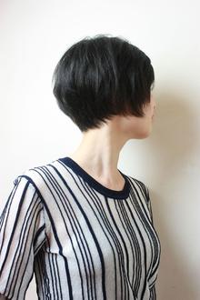 シンプルショートボブ|RENJISHI KICHIJOJIのヘアスタイル